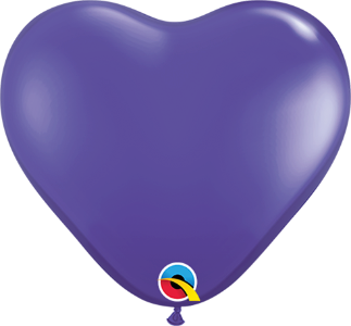 Qualatex Heart Latex Balloons