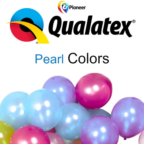 """25 ct Qualatex 11/"""" Chrome 6 Color Assortment or Choose Color Latex Balloons"""