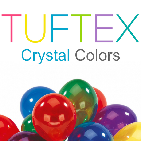 Tuf-Tex Crystal Latex Balloons