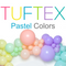 Tuf-Tex Pastel Latex Balloons