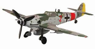 "Easy Model 37205, Messerschmitt Bf 109G, Luftwaffe II/JG 300, ""Red 2"", Germany, 1944, Scale 1/72"