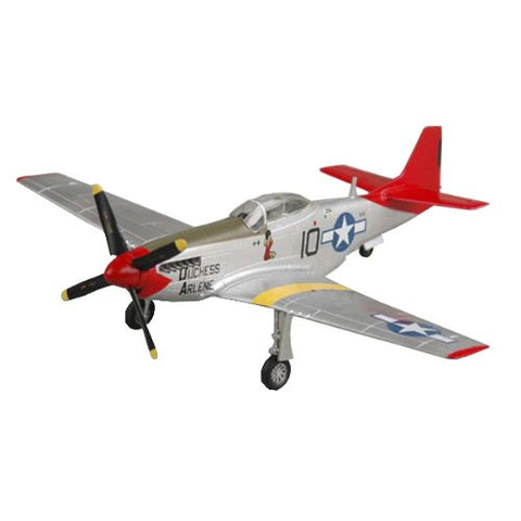 Easy Model 39201 P-51D MUSTANG RED TAILS Tuskegee Airman Duchess Arlene 1/72 Scale