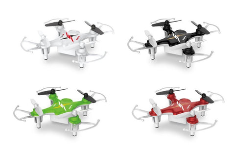 Syma X12S Nano 6-Axis Gyro 4CH RC Quadcopter with Protection Guard