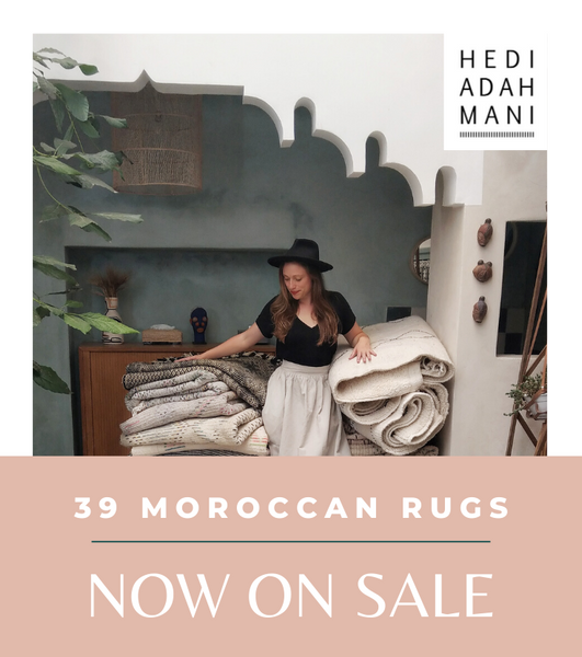 39 Moroccan Berber Rugs - NOW ON SALE - Outlet