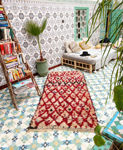 Berber Rugs and their Symbolism Meanings