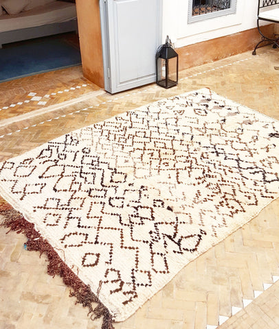 Berber Carpet Meaning of Symbols in Vintage Beni Ourain Azilal Rugs