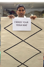 Load image into Gallery viewer, YOMA PRESALE - The Natural Cotton Yoga Mat