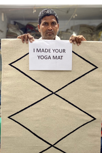 YOMA PRESALE - The Natural Cotton Yoga Mat