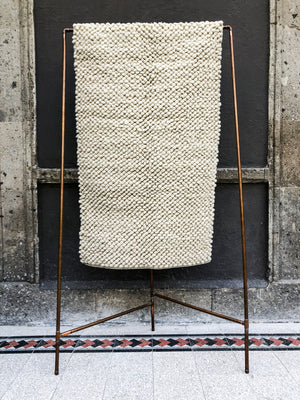Pellizco Rug Prototypes - Natural Wool