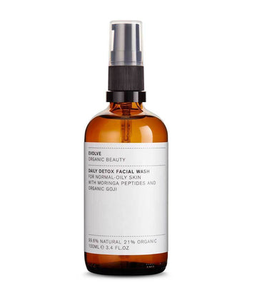 Evolve Beauty Daily Detox Facial Wash 100ml