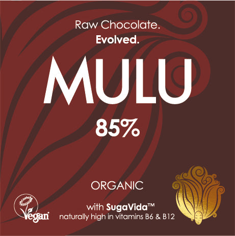 85% - Organic Dark Vegan Chocolate (38g) - INTRODUCTORY OFFER
