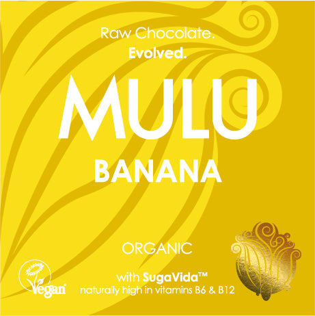 Banana - Organic Raw Vegan Chocolate (38g) - INTRODUCTORY OFFER
