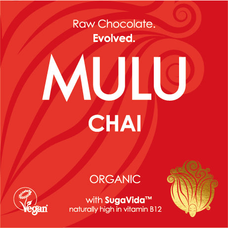 Chai - Organic Raw Vegan Chocolate (38g) - INTRODUCTORY OFFER