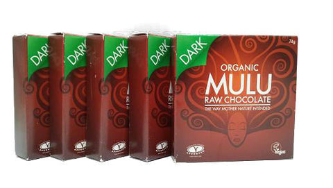 MULU Organic Raw Chocolate Dark 'Lovers' Multi-buy Offer