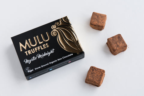 Mystic Midnight Vegan Raw Chocolate Truffles (90g)