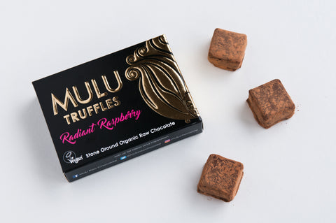 Radiant Raspberry Vegan Raw Chocolate Truffles (90g)
