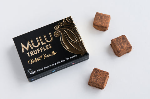 Velvet Vanilla Vegan Raw Chocolate Truffles (90g)