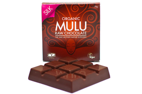 Silk Dairy Free Raw Chocolate Block 74g Organic