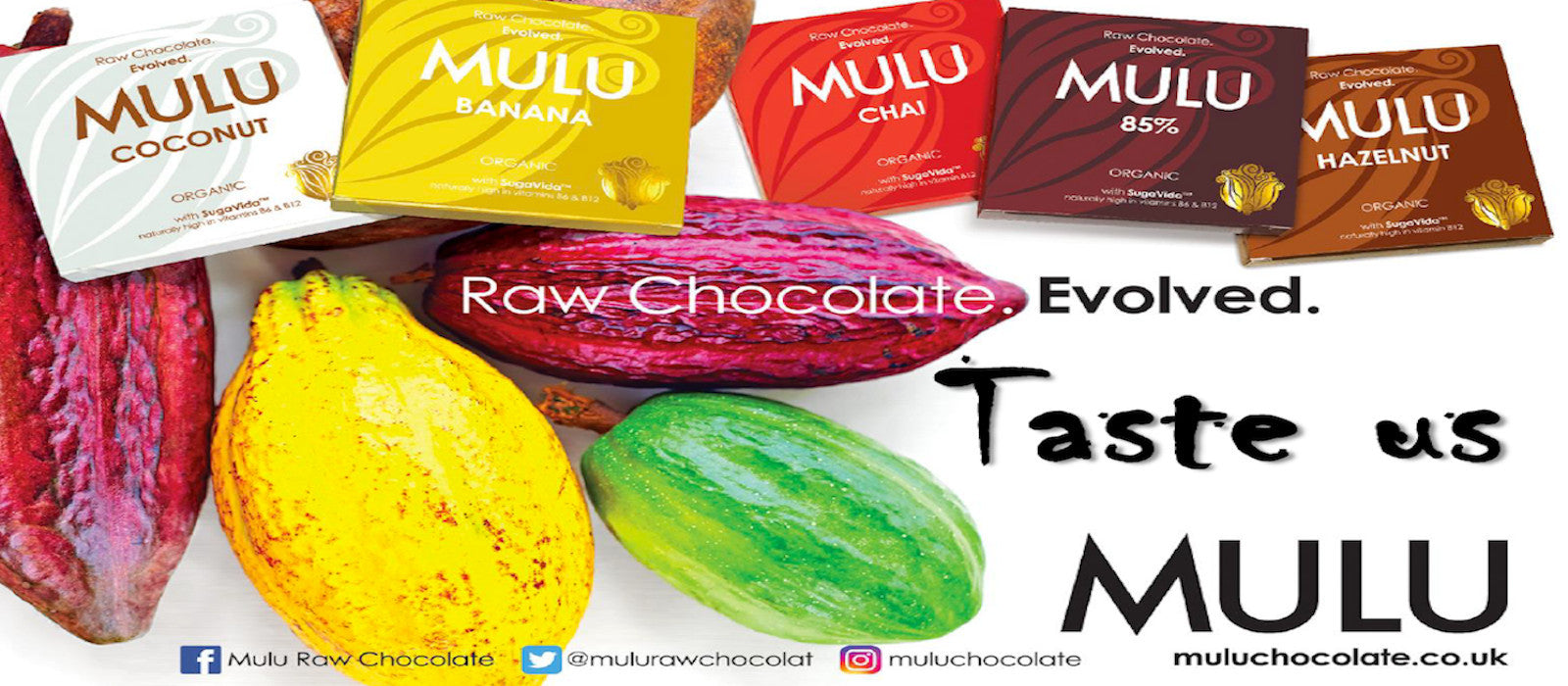 MULU Organic Vegan Raw Chocolate
