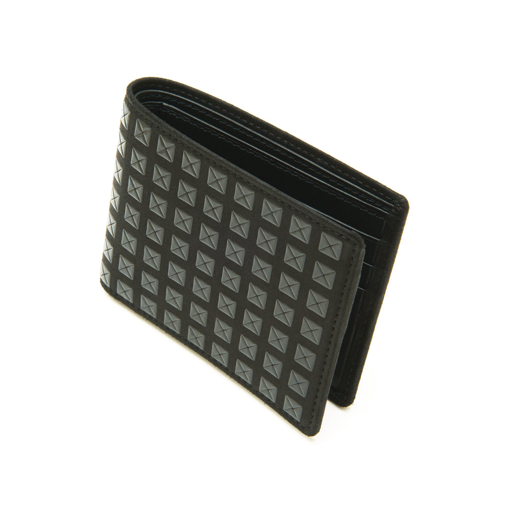 INDEN MEN'S FOLDED WALLET NARROW B x B Studs