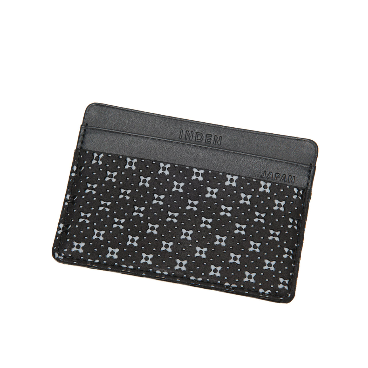 INDEN CARD CASE B x B Flower Lattice