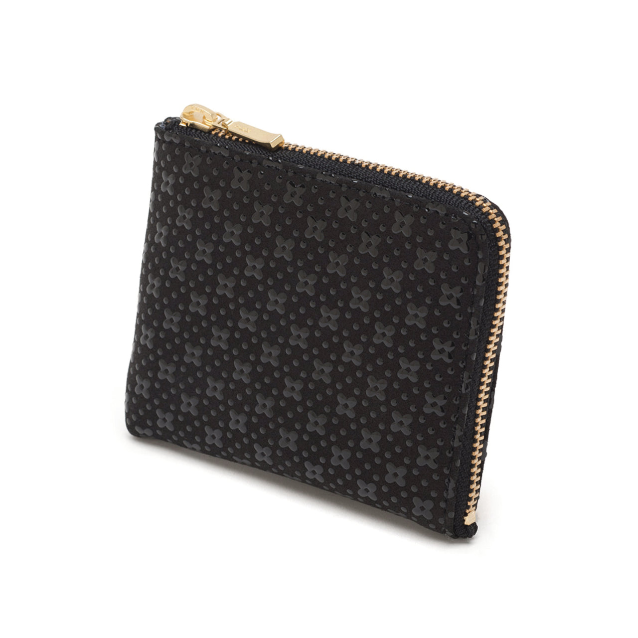 INDEN ZIPPED COIN PURSE B x B Flower Lattice