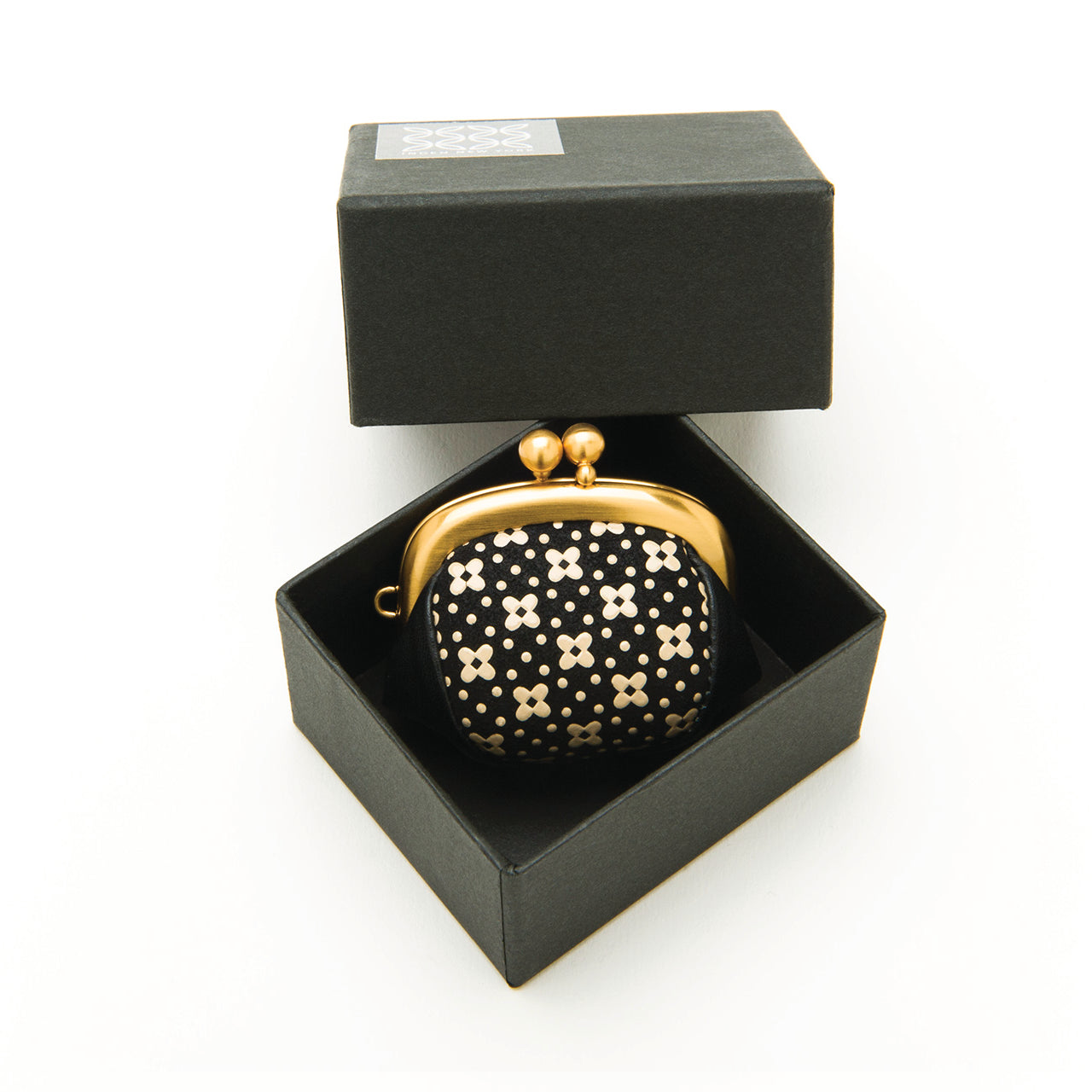 INDEN RING / COIN CASE B x I Flower Lattice