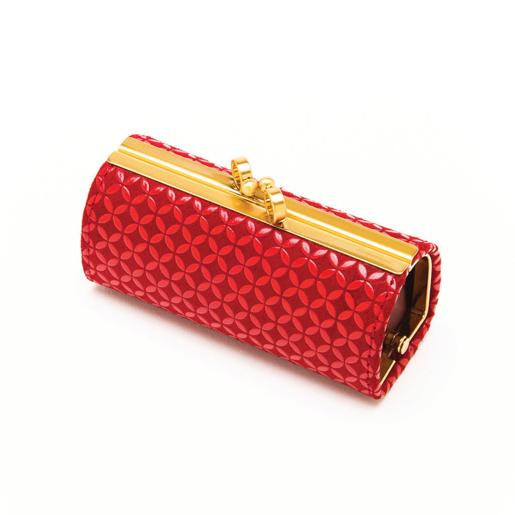 INDEN LIPSTICK CASE Red x Red Seven Treasures