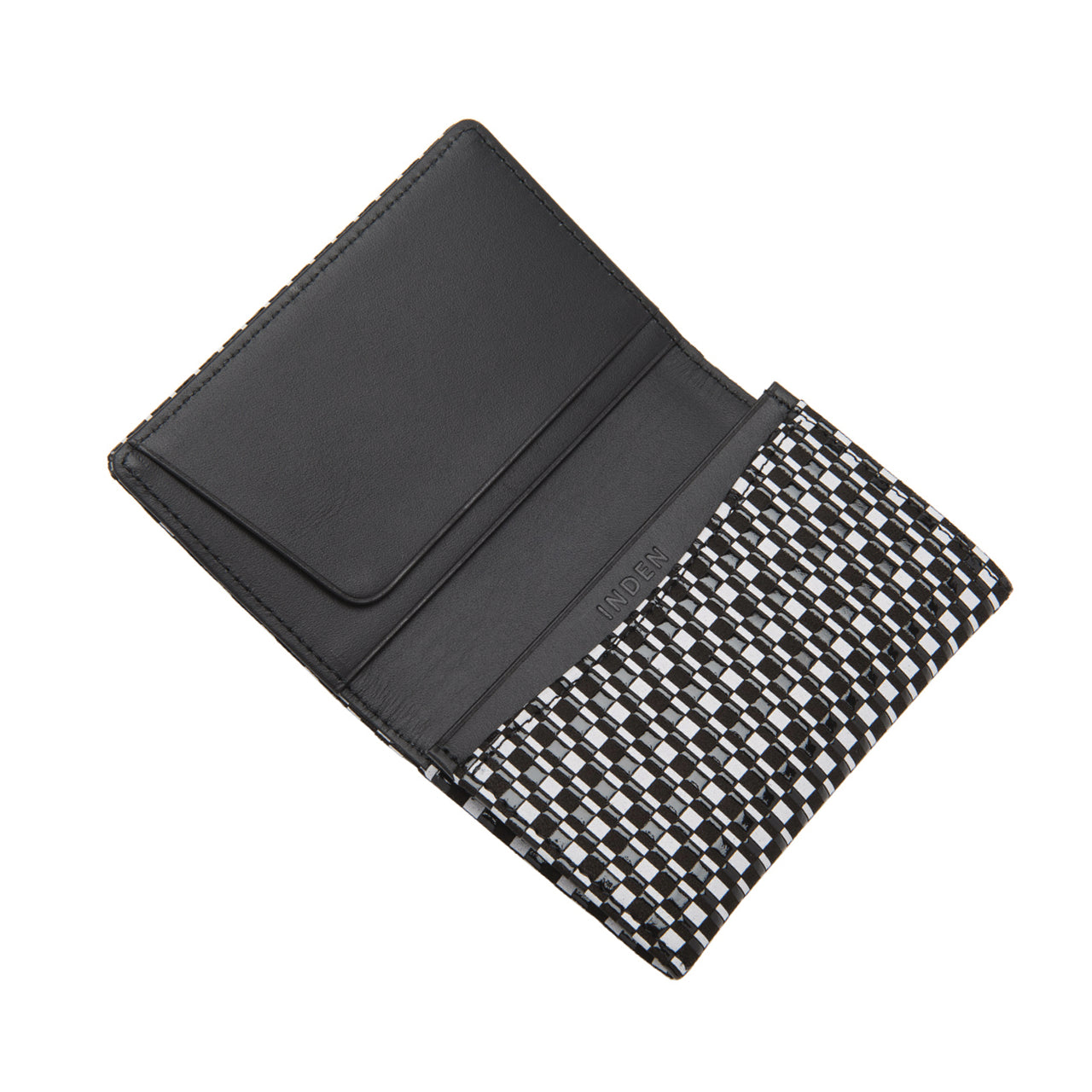 INDEN BUSINESS CARD CASE B x W Rippeal