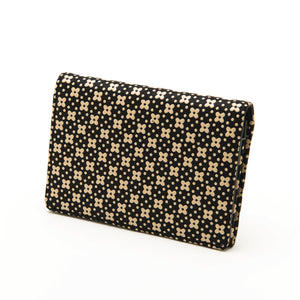 INDEN BUSINESS CARD CASE B x I Flower Lattice