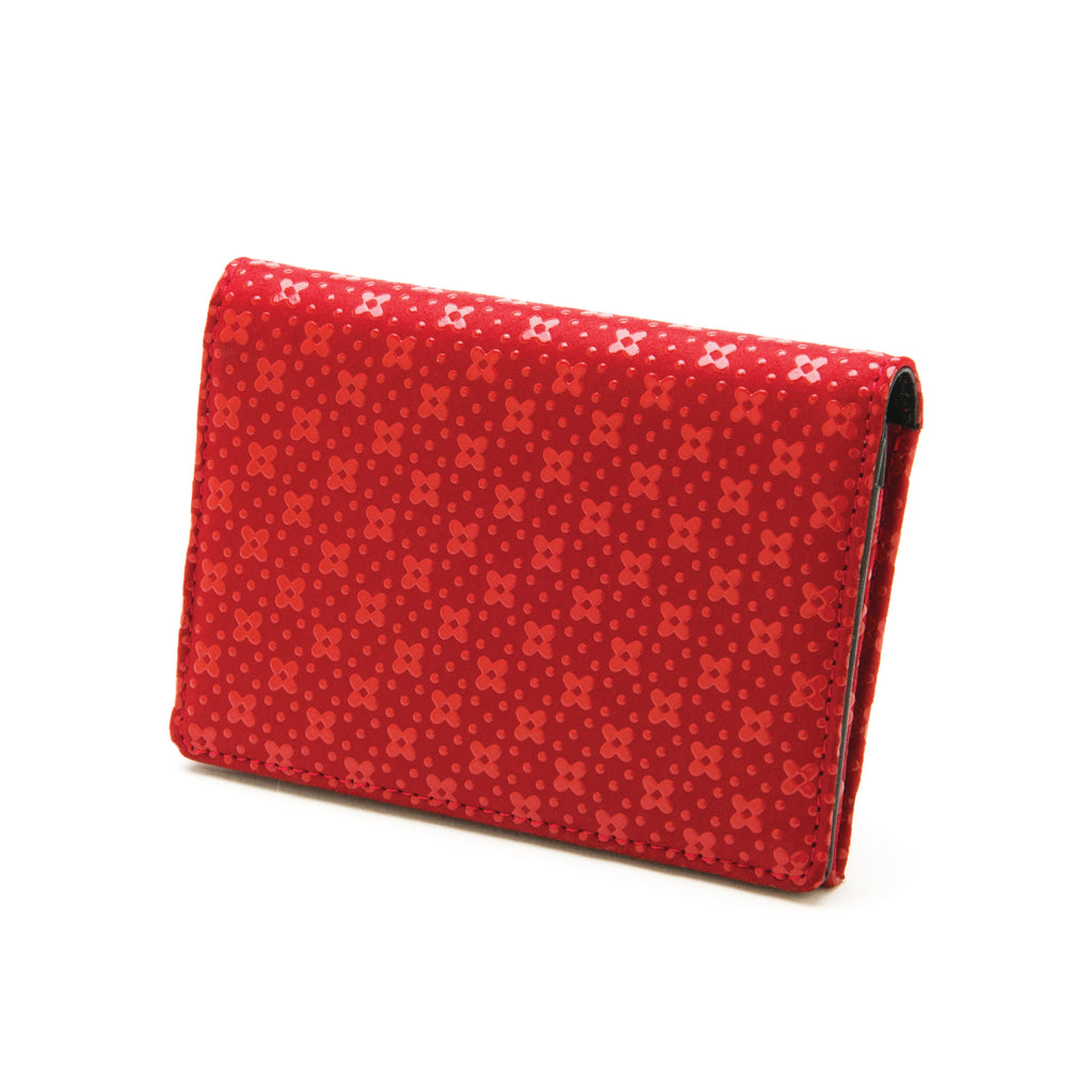 INDEN BUSINESS CARD CASE R x R Flower Lattice