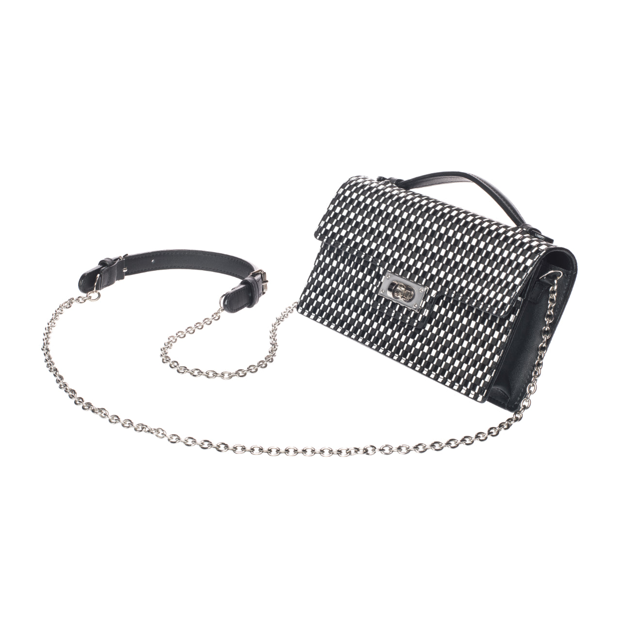 INDEN CROSS-BODY BAG SMALL B x W Rippeal