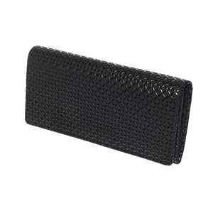 INDEN LONG WALLET Black x Black Seven Treasures