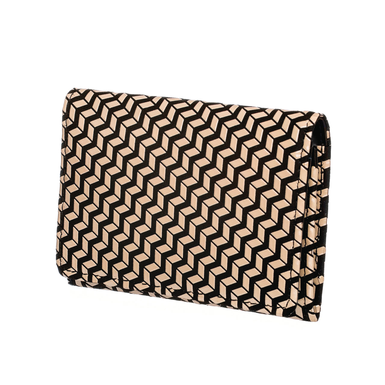 INDEN BUSINESS CARD CASE B x I Chevron