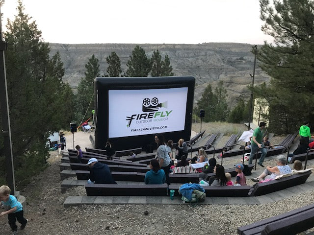 This Open Air Cinema owner in Montana proves outdoor movies can make for a great side business