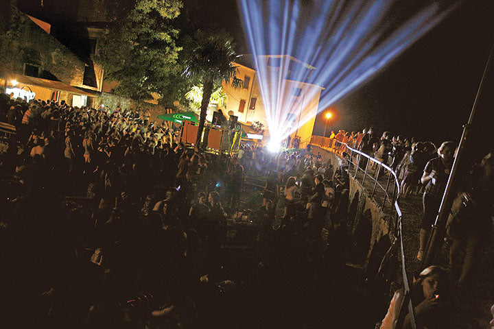 Outdoor Movies at the Motovun Film Festival, Croatia