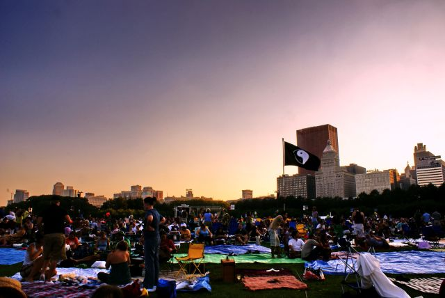 Outdoor Movies in Chicago, Illinois