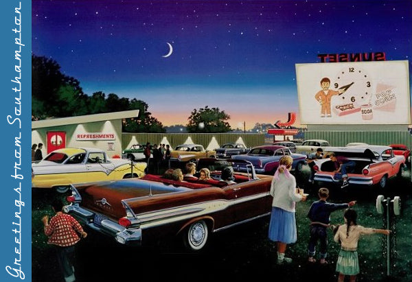 Drive-In Movies in the Hamptons, New York