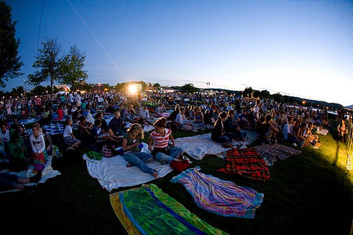 Outdoor Movies at the Traverse City Film Festival