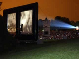 Outdoor Movies in North Bethesda, Maryland