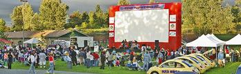 Outdoor Movies in the Park in Tacoma, Washington