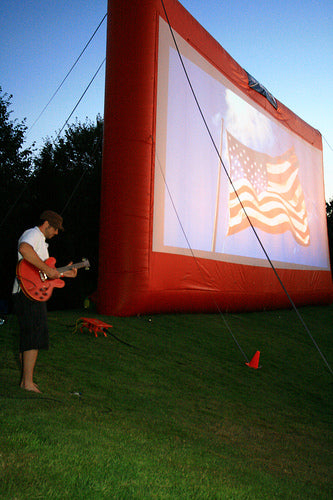 Movies Under the Stars in Woodinville, Washington