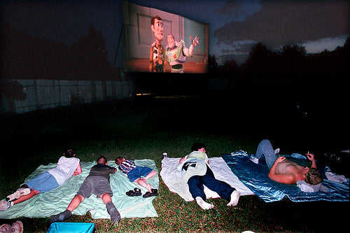 Outdoor Movies in the Bay Area, California