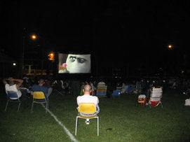 Outdoor Movies in Fanwood, New Jersey