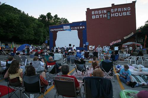 Outdoor Movies in Eureka Springs, Arkansas