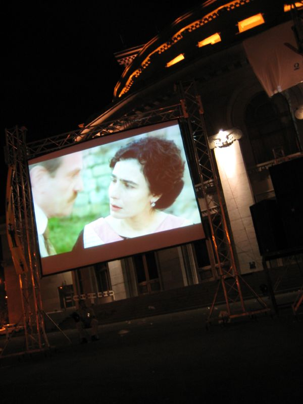 Outdoor Movies in Yerevan, Armenia