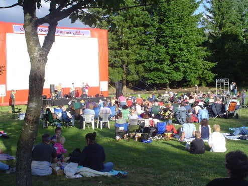 Outdoor Movies in Auburn, Washington