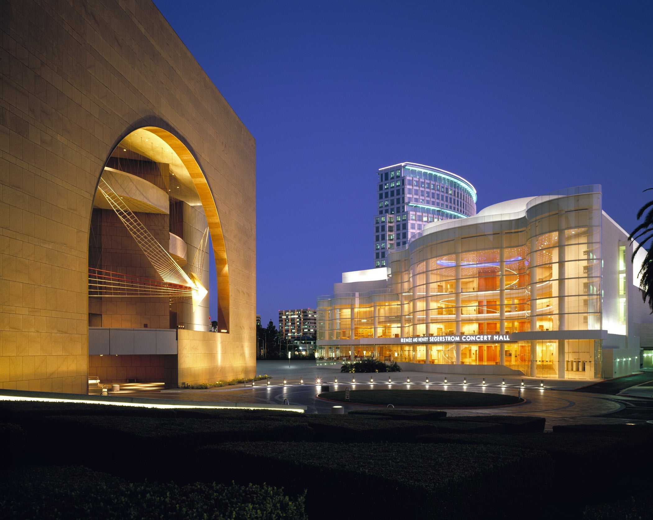 The Orange County Performing Arts Center (OCPAC), site of Colaboration