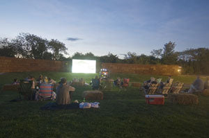 Outdoor Movies in the Hamptons, New York