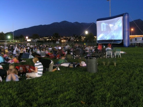 Outdoor Movies Parks and Recreation